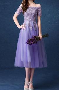 Purple Bridesmaid Long Prom Evening Evening Gown Wedding Dress