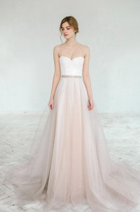 Blush Wedding Gown Dahlia 2 Pieces Dress