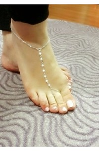 Hot Fashion Simple And Elegant Pearl Anklet Jewelry